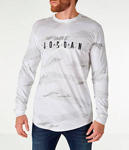 Men's Jordan Sportswear Camo Tech Long-Sleeve T-Shirt