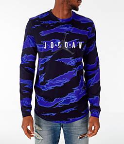 Men's Jordan Sportswear Camo Tech Long-Sleeve T-Shirt