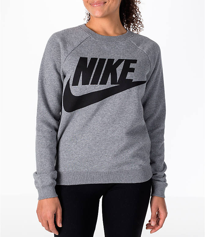 Rally Cotton-blend Sweatshirt - Gray Nike