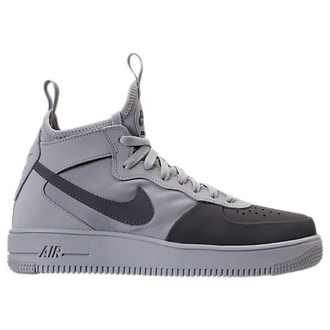 new products b19ca 43df5 NIKE Men S Air Force 1 Ultraforce Mid Tech Casual Shoes, Grey