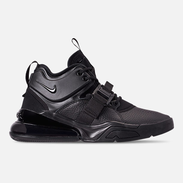 21779b5b03 Right view of Men's Nike Air Force 270 Off-Court Shoes in Triple Black