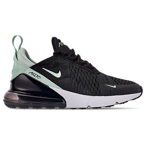 Women'S Air Max 270 Casual Shoes in Black/ Igloo Turquoise White
