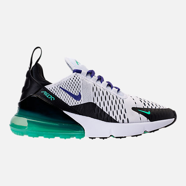 Right view of Women s Nike Air Max 270 Casual Shoes in White Court Purple  e89ccc666