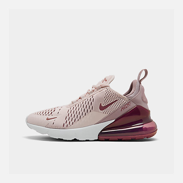 Womens nike air max 270 casual shoes finish line right view of womens nike air max 270 casual shoes in barely rosevintage wine stopboris Images