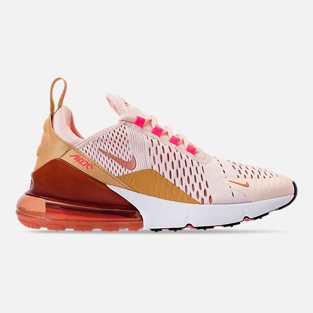 222092ca6bb Right view of Women s Nike Air Max 270 Casual Shoes in Guava Ice Terra Blush