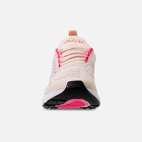 Front view of Women s Nike Air Max 270 Casual Shoes in Guava Ice Terra Blush 6e35afd4a