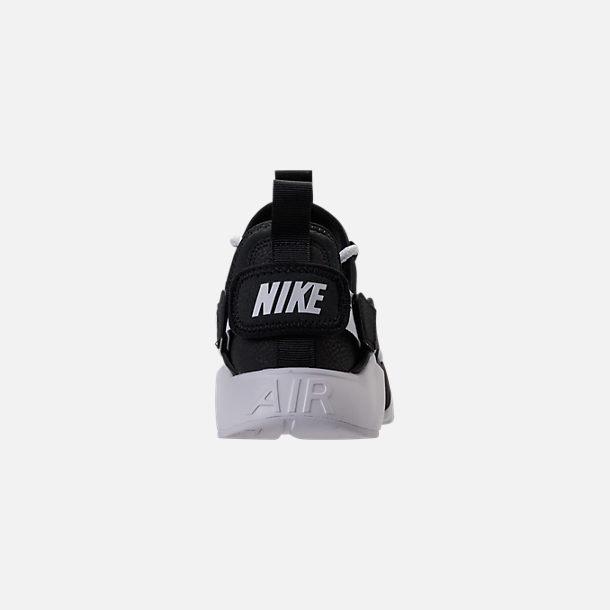 88b83c43527e1 Back view of Women s Nike Air Huarache City Low Casual Shoes in Black Black