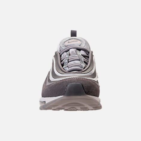 Front view of Women's Nike Air Max 97 Ultra Lux Casual Shoes in Atmosphere Grey/Summit White