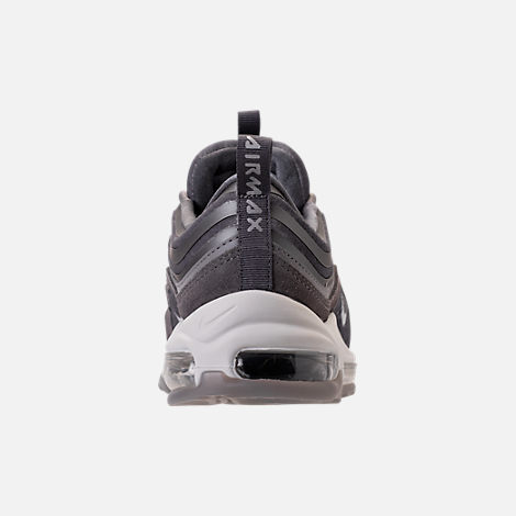 Back view of Women's Nike Air Max 97 Ultra Lux Casual Shoes in Atmosphere Grey/Summit White