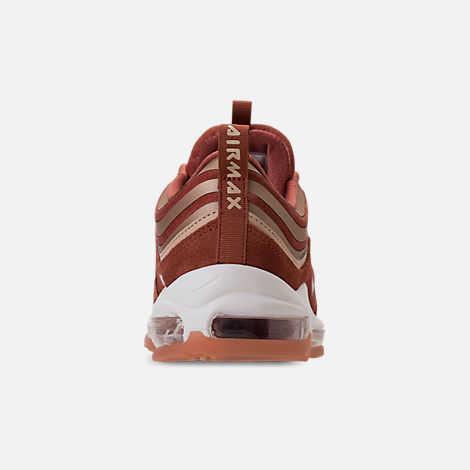 Back view of Women's Nike Air Max 97 Ultra Lux Casual Shoes