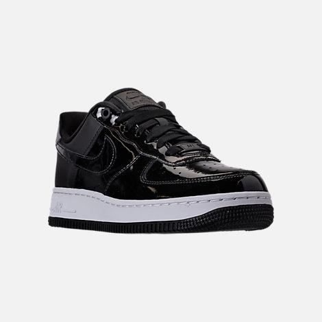 Nike Air Force 1 '07 SE Premium Casual Shoes Black/Reflective Silver AH6827 001
