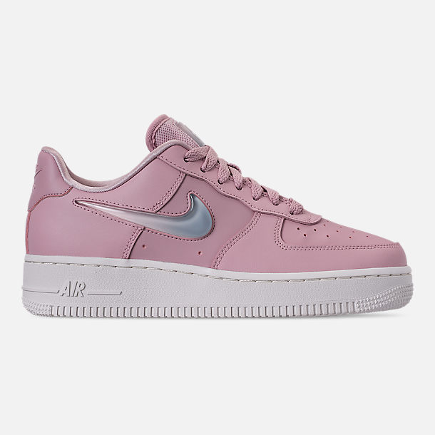 Right view of Women's Nike Air Force 1 '07 SE Premium Casual Shoes in Plum Chalk/Obsidian Mist/Summit White