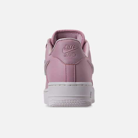 Back view of Women s Nike Air Force 1  07 SE Premium Casual Shoes in Plum fdd8293587