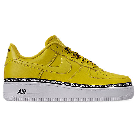 Women'S Air Force 1 '07 Se Premium Casual Shoes, Yellow