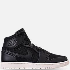 Women s Air Jordan 1 Retro High Premium Casual Shoes 80808639c