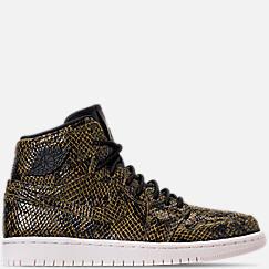 Women's Air Jordan 1 Retro High Premium Casual Shoes