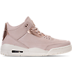 Women's Air Jordan Retro 3 Se Casual Shoes by Nike