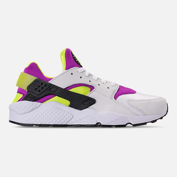 big sale 51234 5668b ... get right view of mens nike air huarache run 91 qs casual shoes in  white d28ca