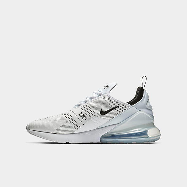 Nike Air Max 270 Mens Casual Shoes BlackAnthraciteWhite ah8050 002 (12.5 B(M) US)