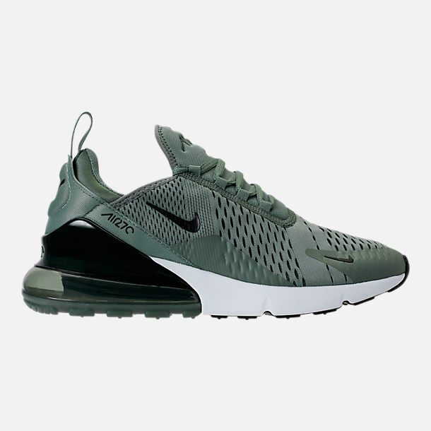 Right view of Men's Nike Air Max 270 Casual Shoes in Clay Green/Black/