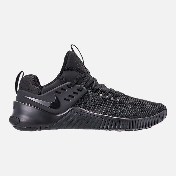 competitive price f9bf7 051de Right view of Men s Nike Free Metcon Training Shoes in Triple Black
