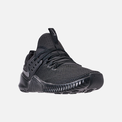 234167055c9c Three Quarter view of Men s Nike Free Metcon Training Shoes in Triple Black