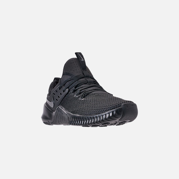 d5d2836c43a6 Three Quarter view of Men s Nike Free Metcon Training Shoes in Triple Black