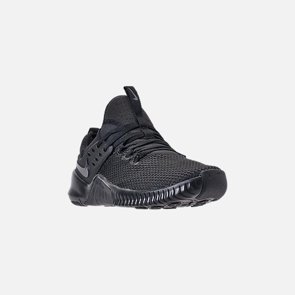 25f51e6029d71 Three Quarter view of Men s Nike Free Metcon Training Shoes in Triple Black
