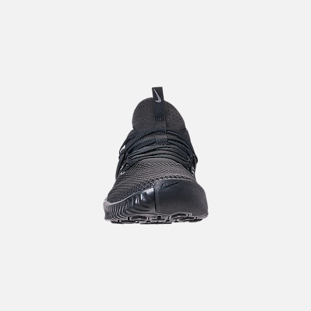 da900f62010d Front view of Men s Nike Free Metcon Training Shoes in Triple Black
