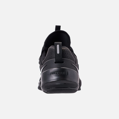 Back view of Men's Nike Free Metcon Training Shoes in Triple Black