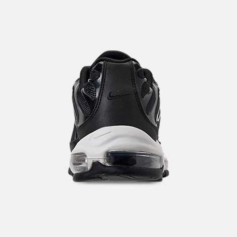 Back view of Men's Nike Air Max 97/Plus Casual Shoes in Black/Anthracite/White