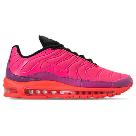 MEN'S AIR MAX 97/PLUS CASUAL SHOES, PINK/RED