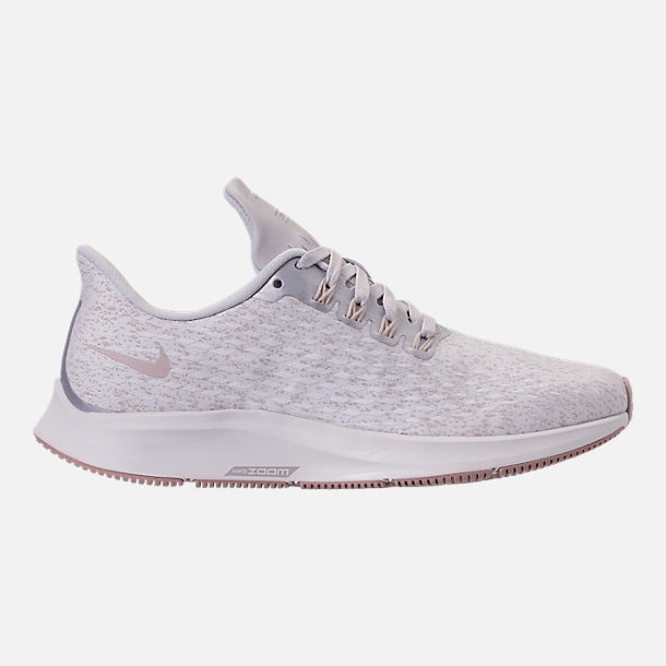 Right view of Women's Nike Air Zoom Pegasus 35 Premium Running Shoes in Vast Grey/Diffused Taupe/Summit