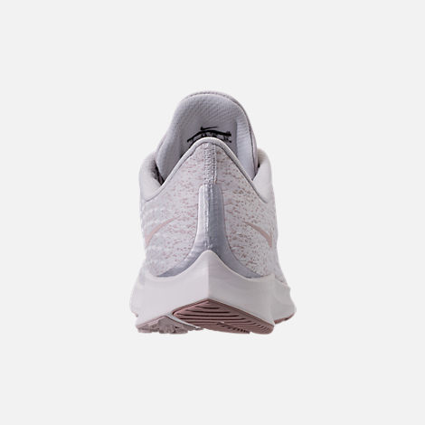 Back view of Women's Nike Air Zoom Pegasus 35 Premium Running Shoes in Vast Grey/Diffused Taupe/Summit