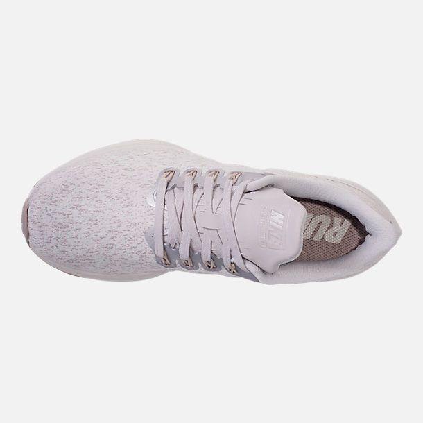 Top view of Women's Nike Air Zoom Pegasus 35 Premium Running Shoes in Vast Grey/Diffused Taupe/Summit