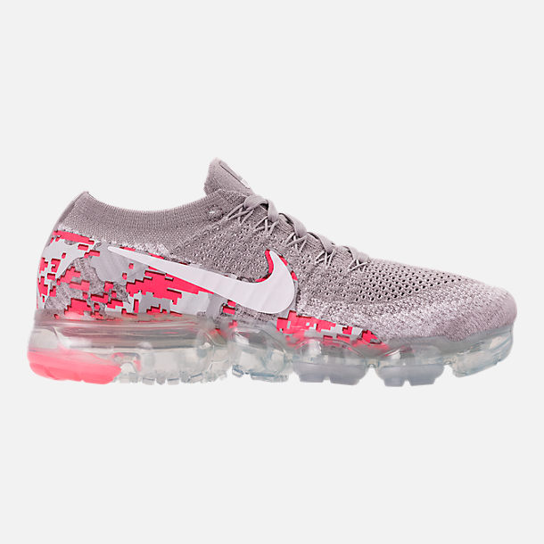 deca6f3fb3df4 ... shopping right view of womens nike air vapormax flyknit 2 running shoes  in atmosphere grey white ...