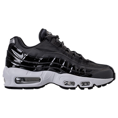 WOMEN'S AIR MAX 95 SPECIAL EDITION CASUAL SHOES, BLACK