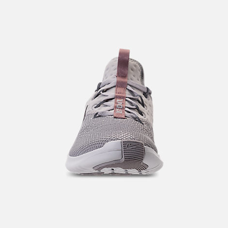 Front view of Women's Nike Free TR 8 LM Training Shoes in Atmosphere Grey/Smokey Mauve/Vast Grey