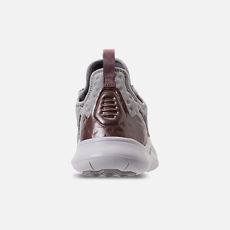 Back view of Women's Nike Free TR 8 LM Training Shoes in Atmosphere Grey/Smokey Mauve/Vast Grey