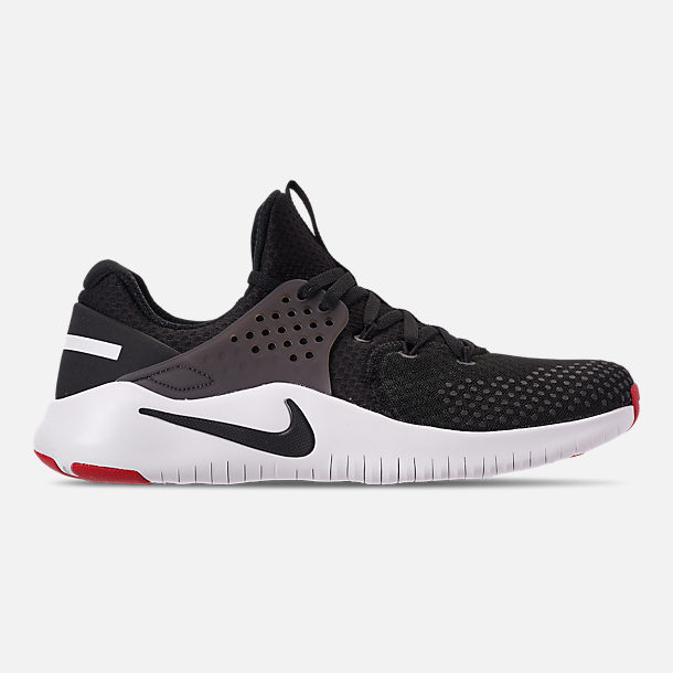 e851671cea163 Right view of Men s Nike Free Trainer V8 Training Shoes in Black White Red