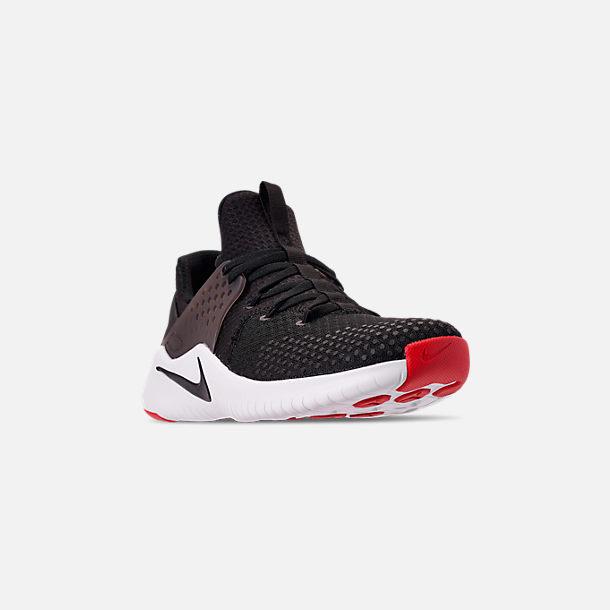 2c4d624aec7c8 Three Quarter view of Men s Nike Free Trainer V8 Training Shoes in  Black White