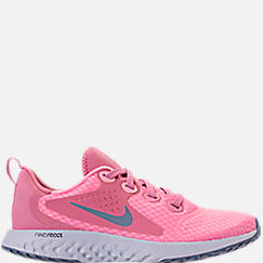 Girls' Grade School Nike Legend React Running Shoes
