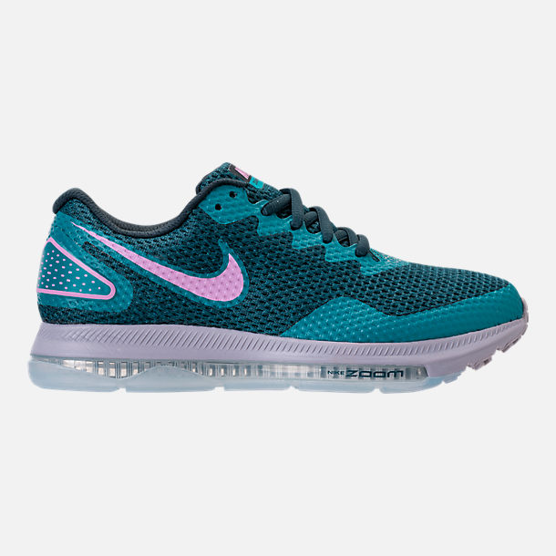 Right view of Women's Nike Zoom All Out Low 2 Running Shoes in Armory Navy/Light Magenta/Blistery