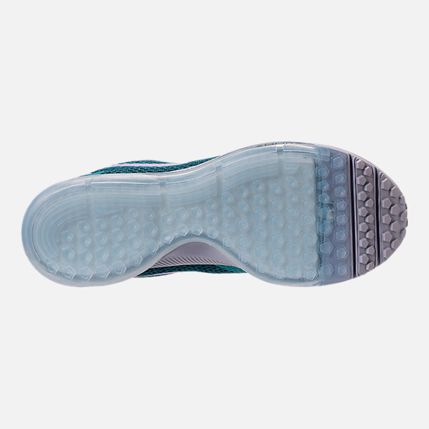 Bottom view of Women's Nike Zoom All Out Low 2 Running Shoes in Armory Navy/Light Magenta/Blistery