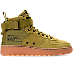 Boys' Grade School Nike SF Air Force 1 Mid Casual Shoes