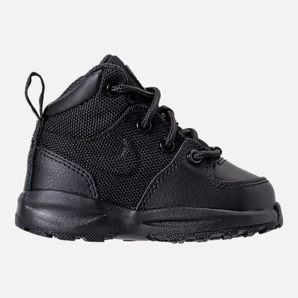 Right view of Boys' Toddler Nike Manoa '17 Boots in Black/Black/Black