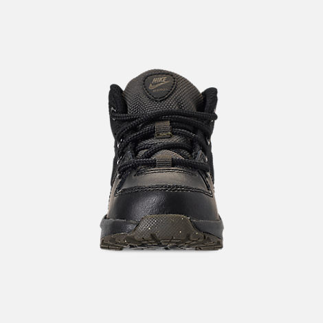 the best attitude 0e792 b0f24 ... Front view of Boys Toddler Nike Manoa 17 Boots in Black Black ...