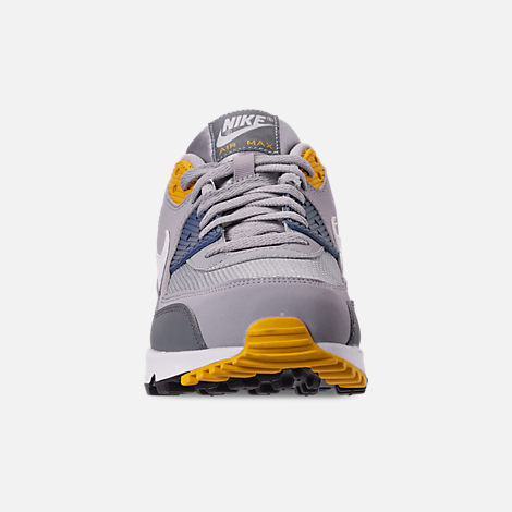finest selection 05b29 99be0 Front view of Men s Nike Air Max 90 Essential Casual Shoes in Wolf Grey  White