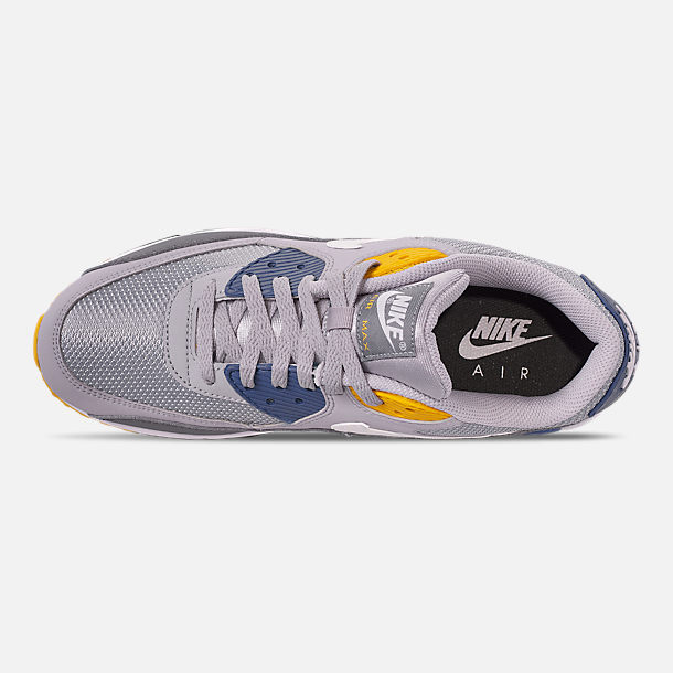 premium selection d891a f2f92 Top view of Men s Nike Air Max 90 Essential Casual Shoes in Wolf Grey White