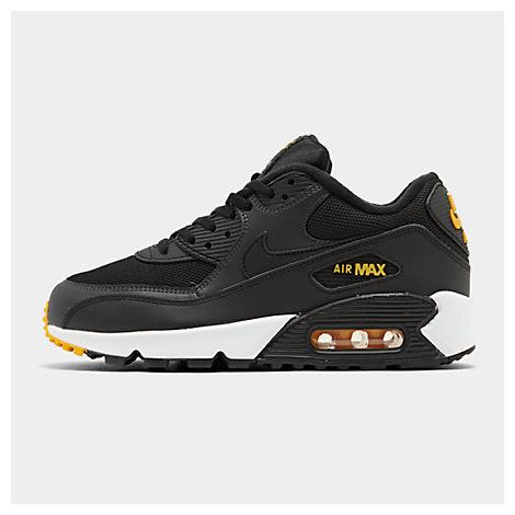 sports shoes a8204 c6983 Men's Air Max 90 Essential Casual Shoes, Black - Size 10.5